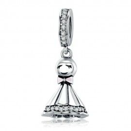 Sterling silver pendant charm Sunny doll