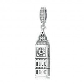 Sterling silver pendant charm Big Ben