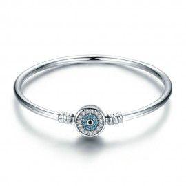 Sterling zilveren bangle armband