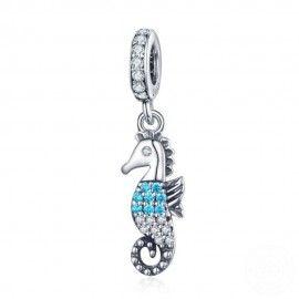 Charm pendente in argento Cavalluccio marino