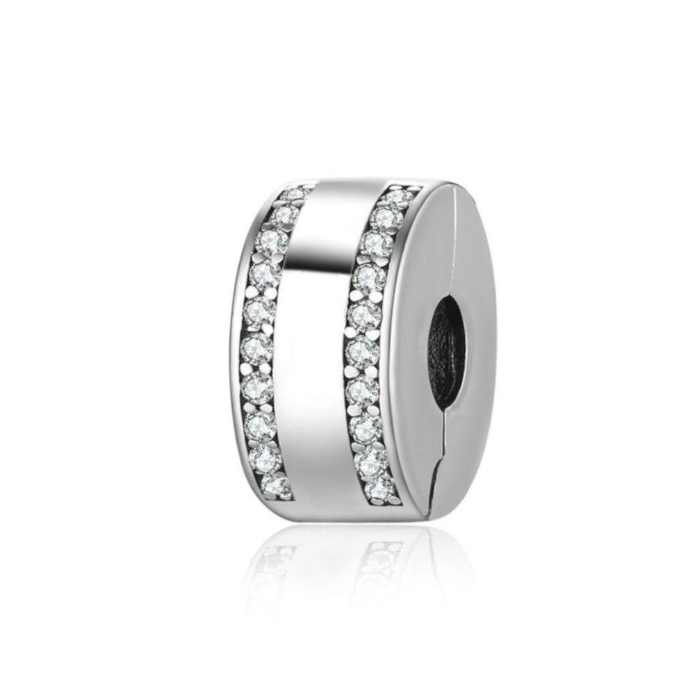 Sterling silver clip Classic