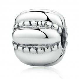Sterling silver clip Crazy