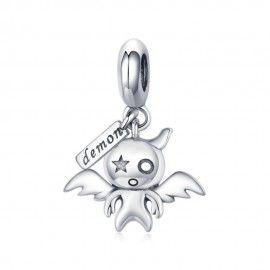 Sterling silver pendant charm Koakuma devil