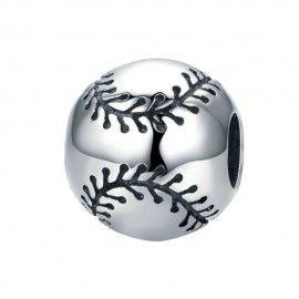 Charm en argent Base-ball