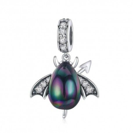 Sterling silver pendant charm Little insect