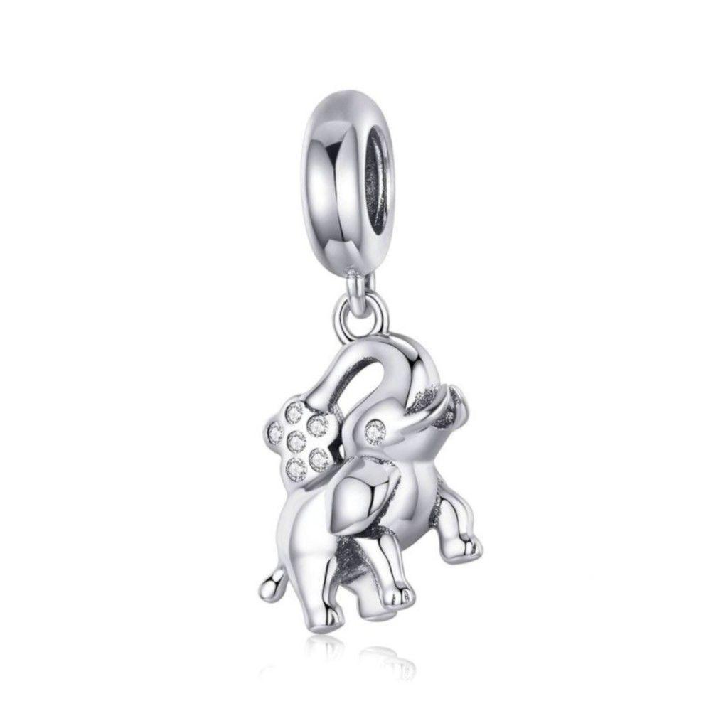 pandora charm elefante