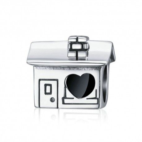 Sterling silver charm Home sweet home