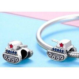 Sterling silver charm Tank