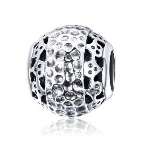 Zilveren bedel Oogverblindende bal