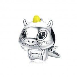 Charm in argento Piccolo unicorno