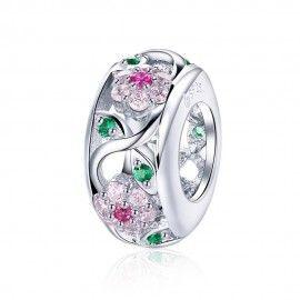 Sterling silver spacer Flower