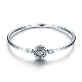 Sterling silver bangle bracelet Vintage