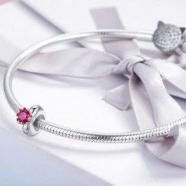Sterling silver charm Inborn queen