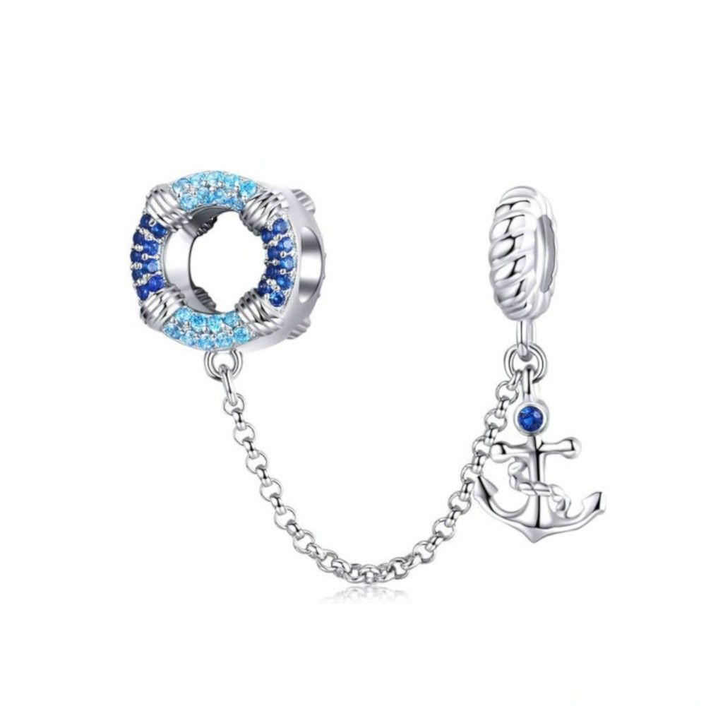 Sterling silver pendant charm Maritime