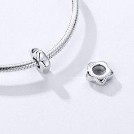 Sterling silver stopper Plum blossom