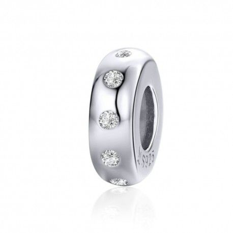 Sterling silver stopper Sparkling-Mijn bedels-for your Pandora or c