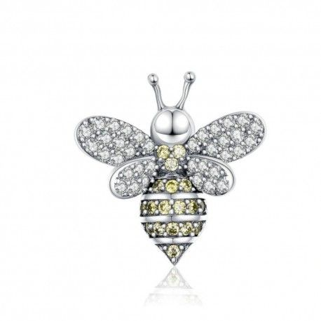 Sterling silver charm The bee