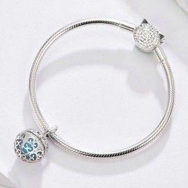 Sterling silver pendant charm Perfume locket
