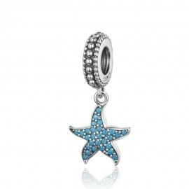 Sterling silver pendant charm Lovely starfish