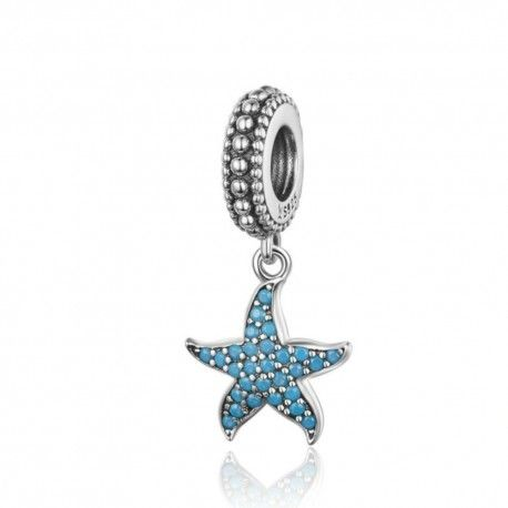 00ca919be Sterling silver pendant charm Lovely starfish-Mijn bedels-for your ...