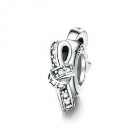 Zwischenelement aus Sterling-Silber Mehrfarbig