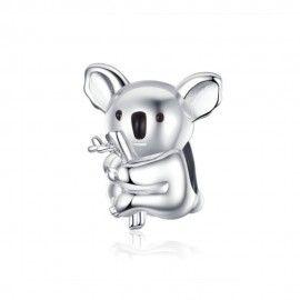 Sterling silver charm Koala