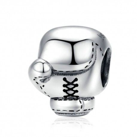 Sterling silver charm Boxing glove