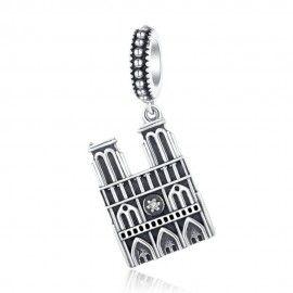 Charm colgante en plata de Ley Nuestra Señora de Paris