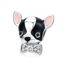 Zilveren bedel Chihuahua