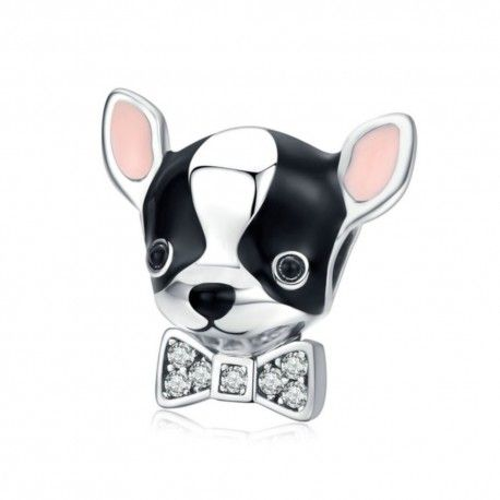 Sterling silver charm Chihuahua
