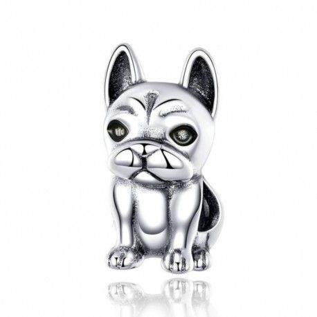 Sterling silver charm Nice French bulldog