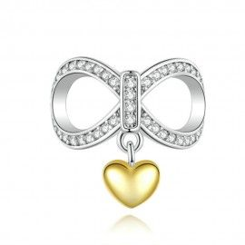 Charm in argento Infinito amore