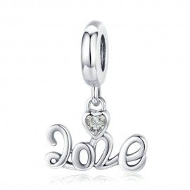Charm pendente in argento 2020