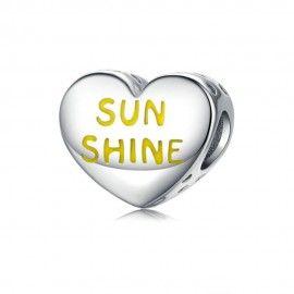 Charm in argento Sei il mio raggio di sole