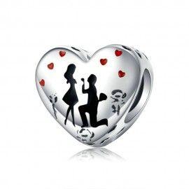 Charm in argento Matrimonio