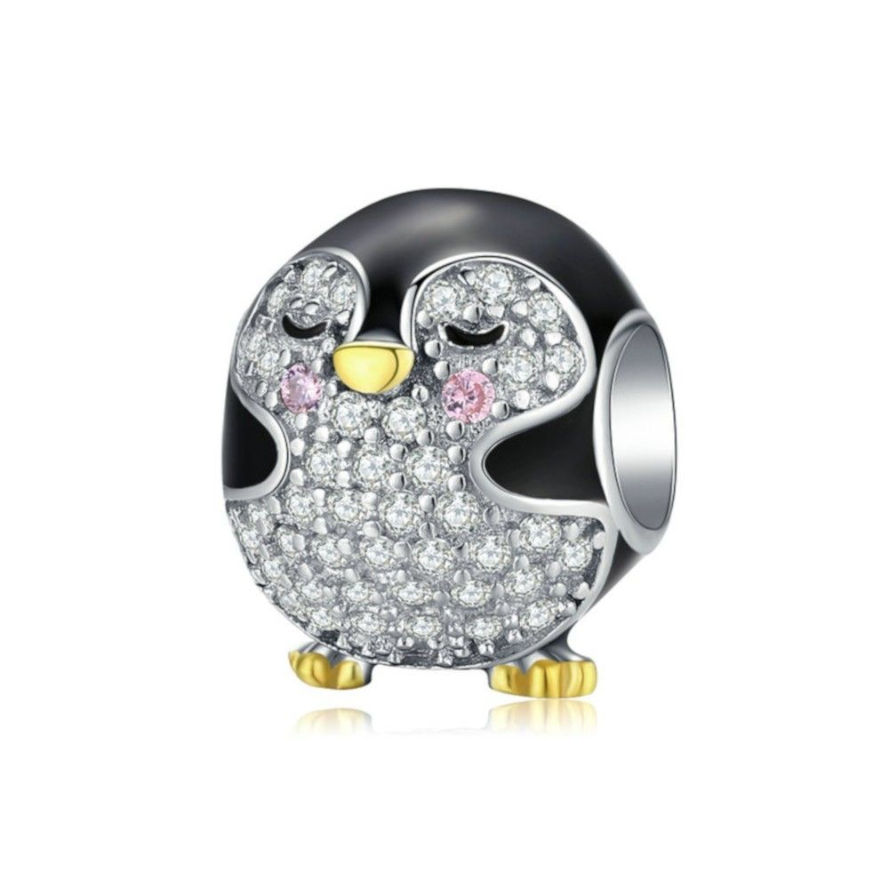 Sterling silver charm Baby penguin