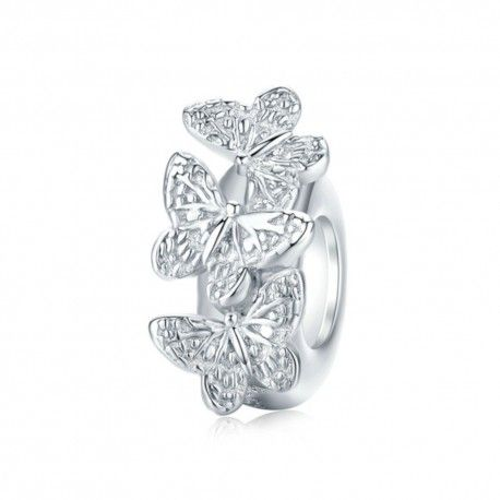 Sterling silver stopper Butterfly