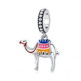 Charm pendente in argento Cammello