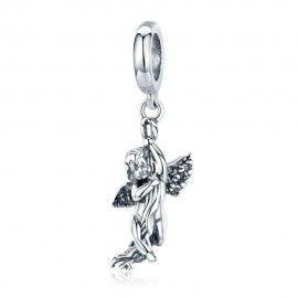 Charm pendente in argento Cupido