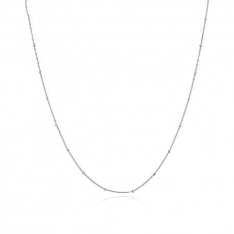 Sterling silver necklace with lobster clasp