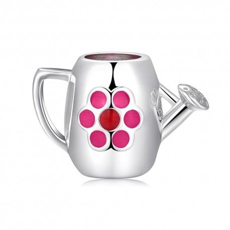 Sterling silver charm Watering can
