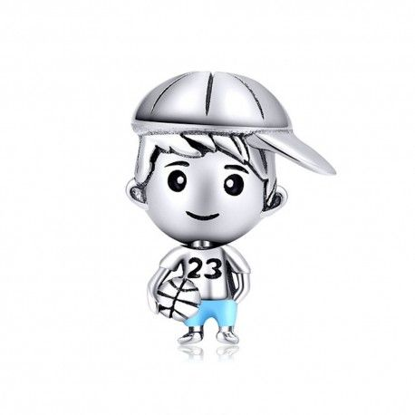 Sterling silver charm Sweet brother