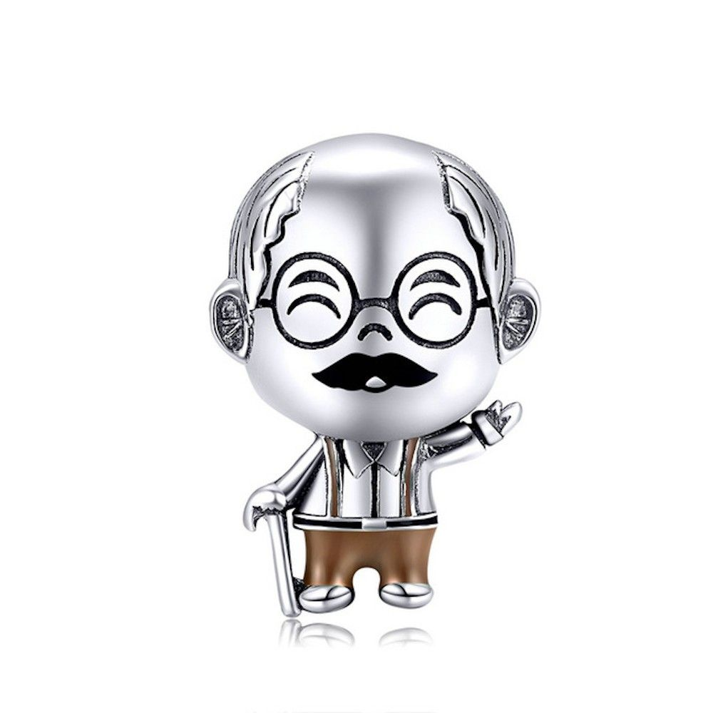 Sterling silver charm Grandpa