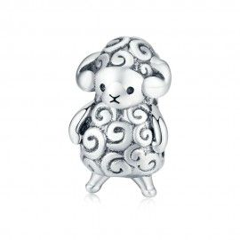 Sterling silver charm Baby sheep
