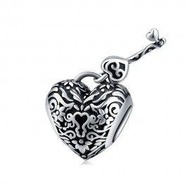 Sterling silver charm Lock...