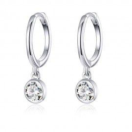 Silver earrings Waterdrop