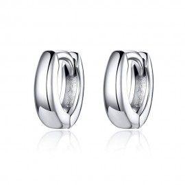 Zilveren oorbellen...