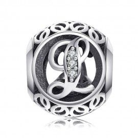 Sterling silver charm with...