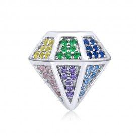 Charm en argent Diamant...