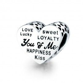 Sterling silver charm You...